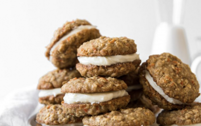 Carrot Oatmeal Cream Pies