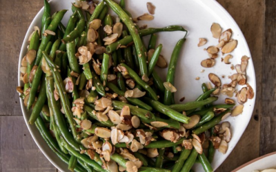 Garlic Almond Green Beans