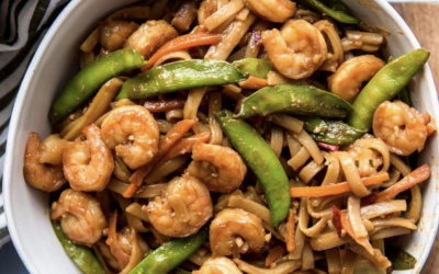 Better than Take-Out Shrimp & Noodles