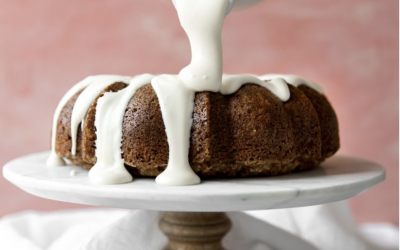 Carrot & Cream Cheese Bundt Cake