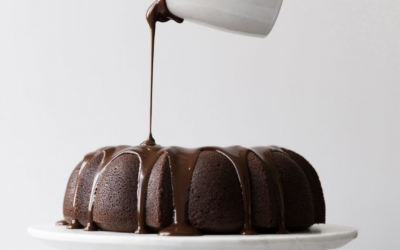 Chocolate Espresso Cream Cheese Bundt Cake