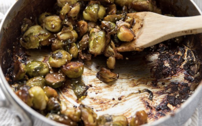 Hoisin Sesame Brussel Sprouts
