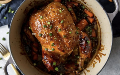 Honey Sesame Roasted Chicken