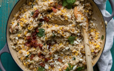 Mexican Street Corn Risotto