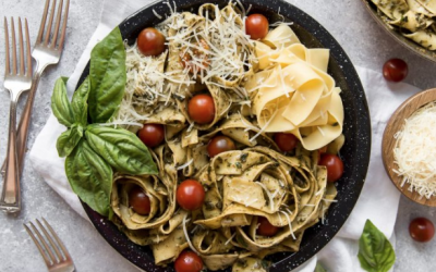 Pesto Pappardelle