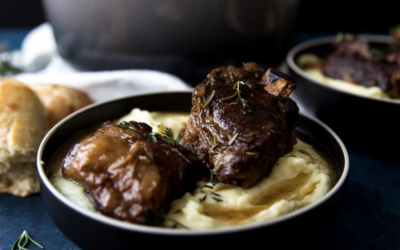 Wine and Balsamic Braised Short Ribs