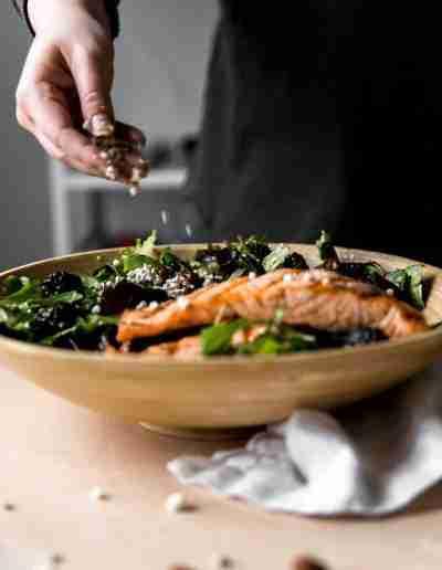 Black & Bleu Salmon Salad-4