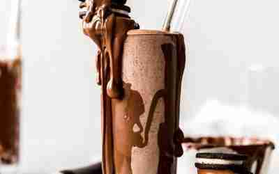 Nutella Dipped Oreo Malts