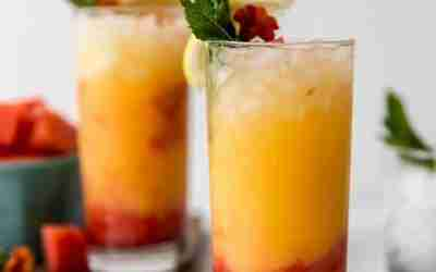 Watermelon Tequila Sunrise