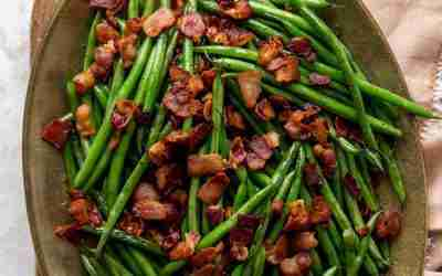 Crispy Bacon Green Beans
