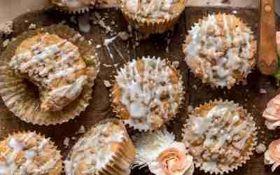Buttermilk Coffee Cake Muffins