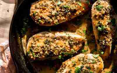 Honey Mustard Herb Skillet Chicken