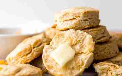 Homestyle Cheddar Biscuits