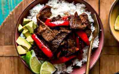 Chipotle Steak and Peppers