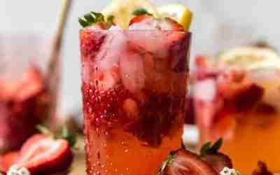 Strawberry Lemonade Smashers