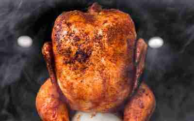 Simple Smoked Chicken