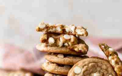 Brown Butter White Chocolate Chip Cookies