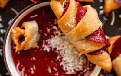 Pepperoni Pizza Roll-Ups