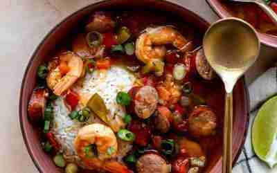 Cajun Shrimp & Sausage Stew