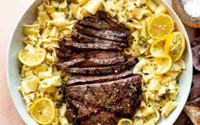 Italian Marinated Flank Steak
