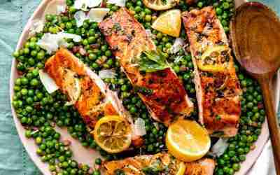 Lemon Herb Seared Salmon
