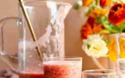 Strawberry Lemonade Smoothies