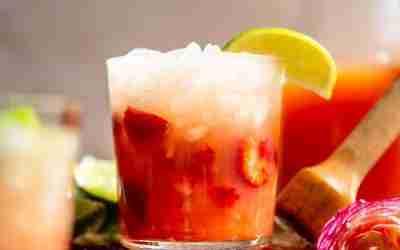 Strawberry Palomas