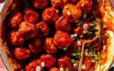 BBQ Chicken Meatballs