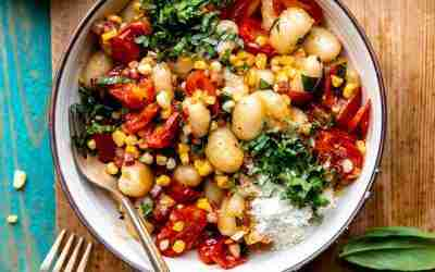 Summer Corn & Tomato Gnocchi
