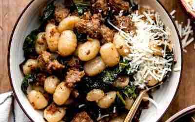Sausage & Kale Gnocchi